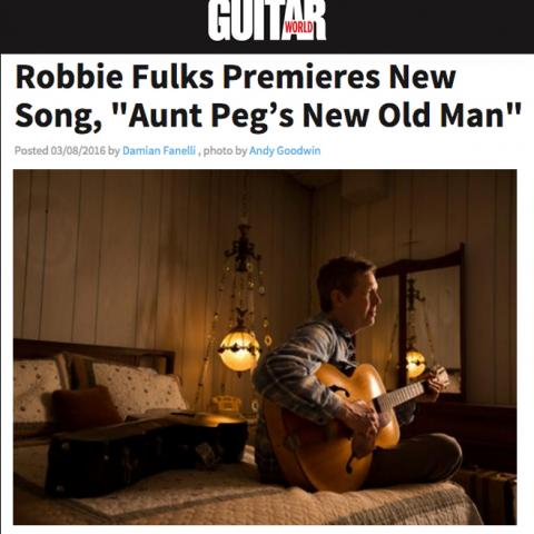 Robbie Fulks Guitar World