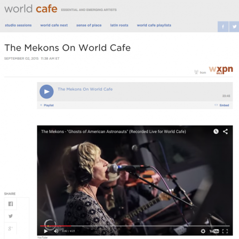 Mekons World Cafe