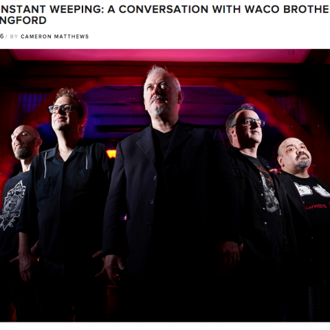 Waco Brothers Jon Langford Bluegrass Situation