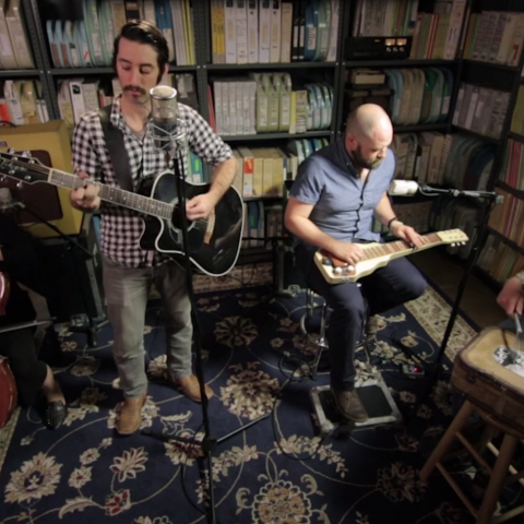 Murder By Death Paste Magazine Session