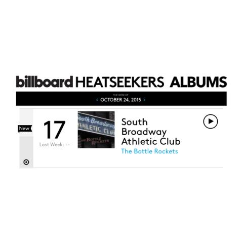 Bottle Rockets Billboard Heatseekers Chart