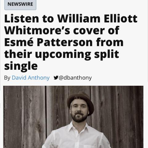 William Elliott Whitmore Esmé Patterson AV Club