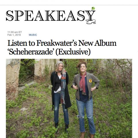 Freakwater Scheherazade Wall Street Journal