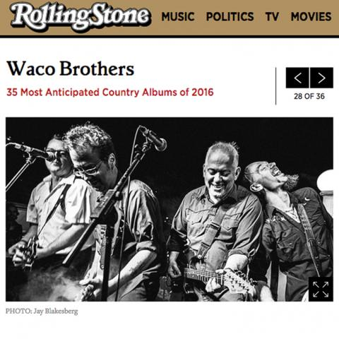 Waco Brothers Rolling Stone