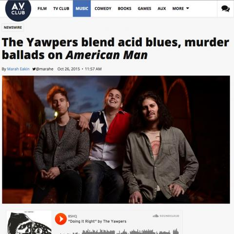 The Yawpers AV Club