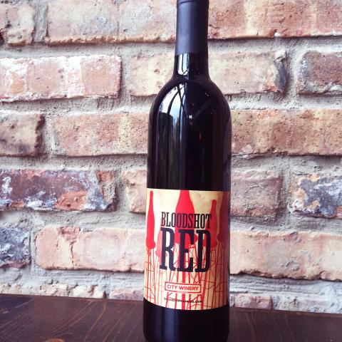Bloodshot Red City Winery Wine