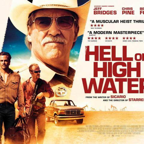 Hell or High Water Jeff Bridges Chris Pine Scott H Biram Blood Sweat Murder