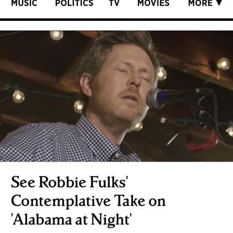 Robbie Fulks Alabama at Night The Hideout Rolling Stone