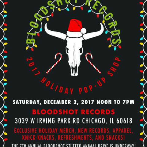2017 Bloodshot Holiday Pop-up Shop