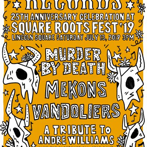 Bloodshot Records 25th anniversary Square Roots Festival
