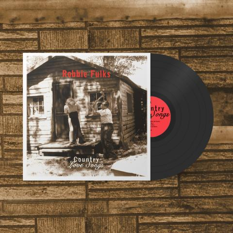 Robbie Fulks Country Love Songs Vinyl LP