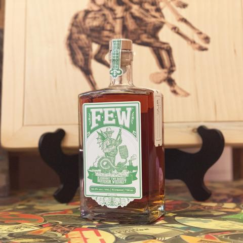 Bloodshot Records FEW Spirits Two Barrel Bourbon