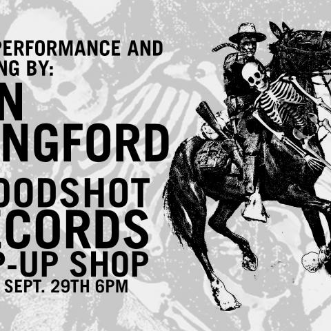 Jon Langford Pop-up shop