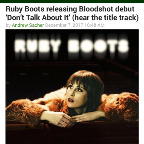 Ruby Boots BrooklynVegan