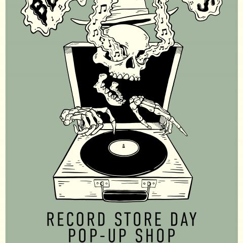 Bloodshot Records Record Store Day Poster 2