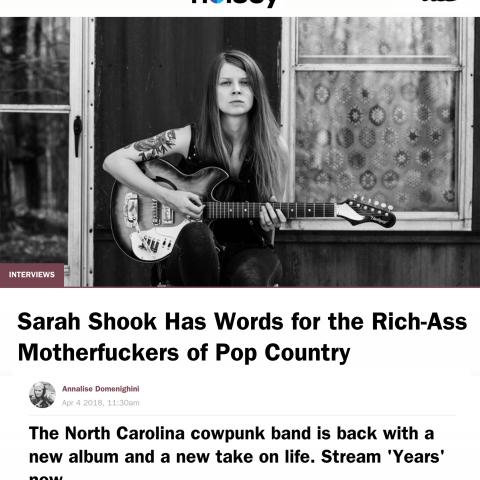 Sarah Shook Noisey Vice