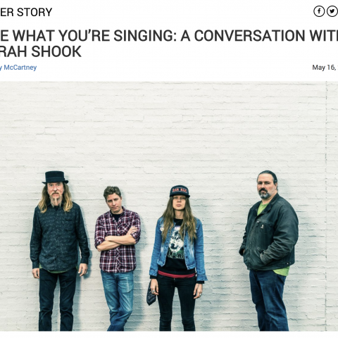 Sarah Shook Bluegrass Situation cover Story