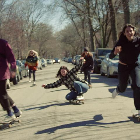 Sarah Shook New Ways to Fail Music Skateboarding video