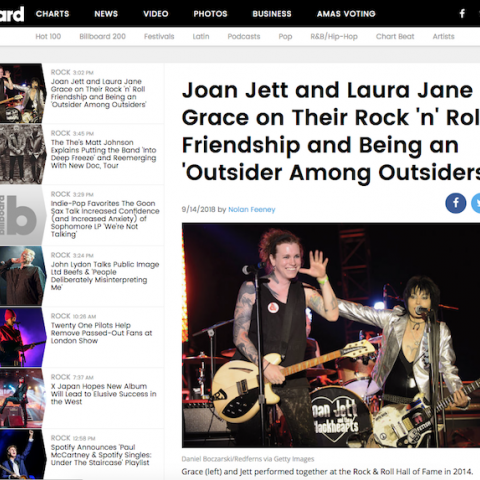 Laura Jane Grace Billboard Joan Jett