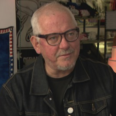Bloodshot Records Jon Langford WTTW Chicago Tonight PBS