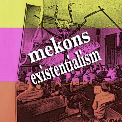 Mekons Existentialism Book CD