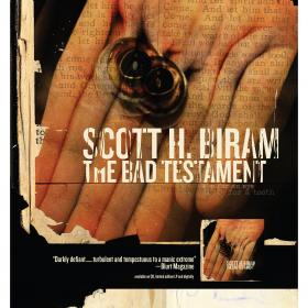 Scott H. Biram 'The Bad Testament' Poster