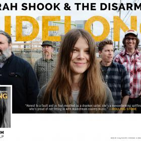 Sarah Shook and the Disarmers Sidelong Poster
