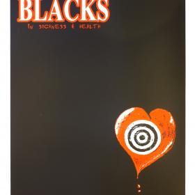 The Blacks 'In Sickness & Health' Silk Screen Poster