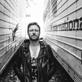 Cory Branan Black White Photo by Joshua Black Wilkins