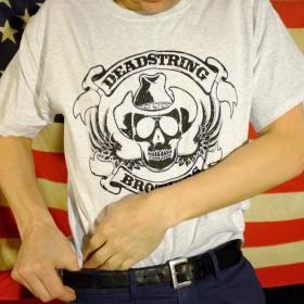 Deadstring Brothers Honky Tonk Skull T