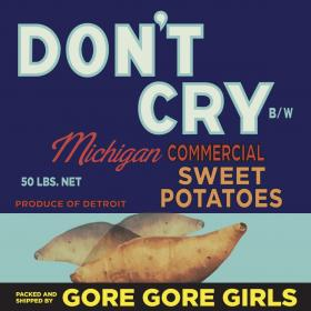 "Don't Cry 7"" Single"
