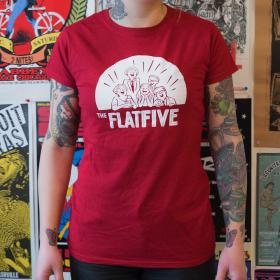 Flat Five Girly T