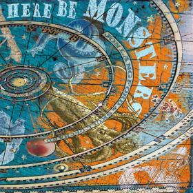 Jon Langford Here Be Monsters