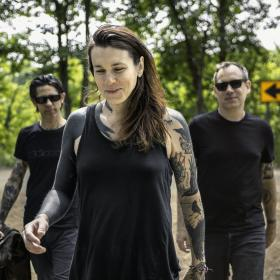 Laura Jane Grace and the Devouring Mothers 2018 Promo Photo by Bryce Mata