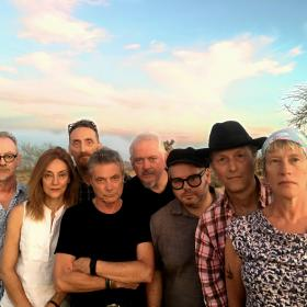 Mekons promo photo by Ricky Malpas 2018