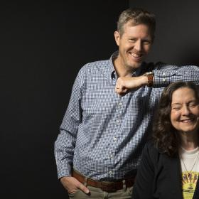 Robbie Fulks and Linda Gail Lewis 2018 Promo Photo by Andy Goodwin
