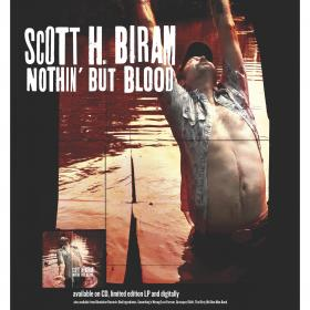Scott H. Biram 'Nothin' But Blood' Poster