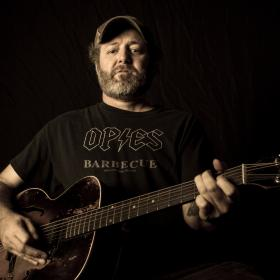 Scott H Biram Horizontal Promo Photo by Christopher Cardoza