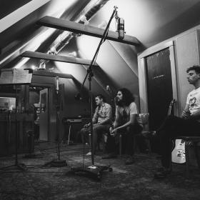 The Yawpers BW Studio Photo by Sarah Gless