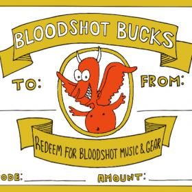 Bloodshot Gift Certificates
