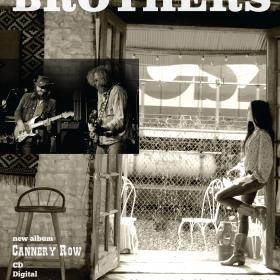 Deadstring Brothers 'Cannery Row' Poster