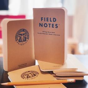 Bloodshot 25th Anniversary Field Notes Memo Book (Pack of 3)