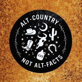 Alt-Country Not Alt-Facts Sticker