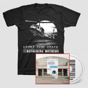 Laura Jane Grace & the Devouring Mothers Bought to Rot CD + T-Shirt Bundle