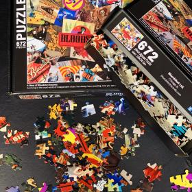 Bloodshot Records Jigsaw Puzzle (672 Pieces)