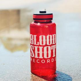 Bloodshot Records Logo Water Bottle