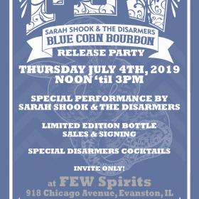 TICKET: Sarah Shook & the Disarmers FEW Spirits Bourbon Release Party