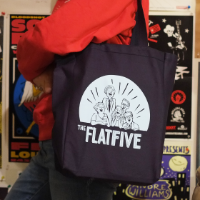 The Flat Five Tote Bag