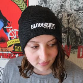 Bloodshot Knit Cap (Gray)