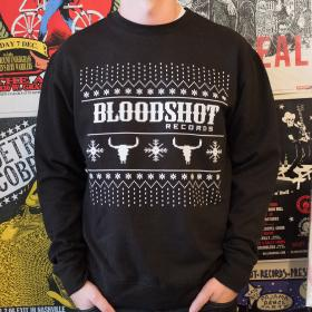 Bloodshot Holiday Sweater (Black)